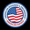 american-designed logo