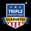 triple protection guarantee logo